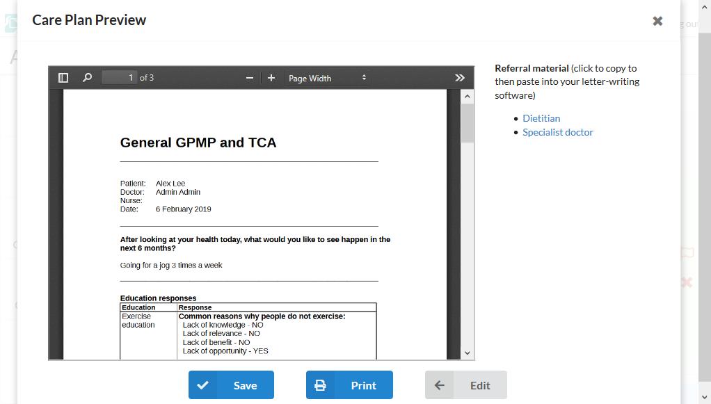 screenshot - preview PDF
